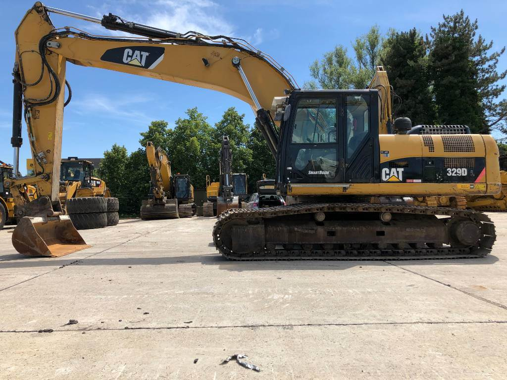 Caterpillar 329 D L, Crawler excavators, Construction