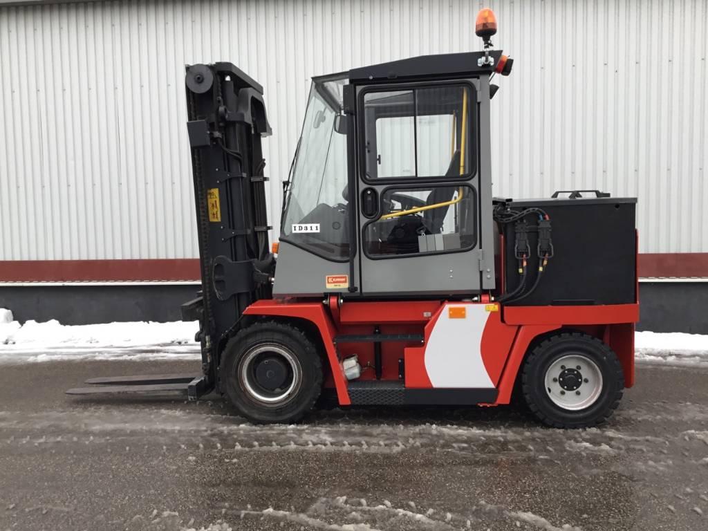 Kalmar ECF55-6, Electric forklift trucks, Material Handling