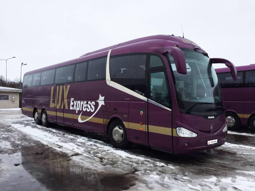 Scania Irizar, Kaugsõidubussid, Transport