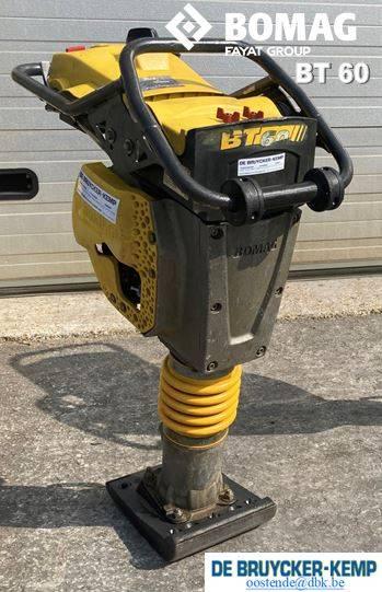 Bomag TRILSTAMPER BT60, Other, Construction
