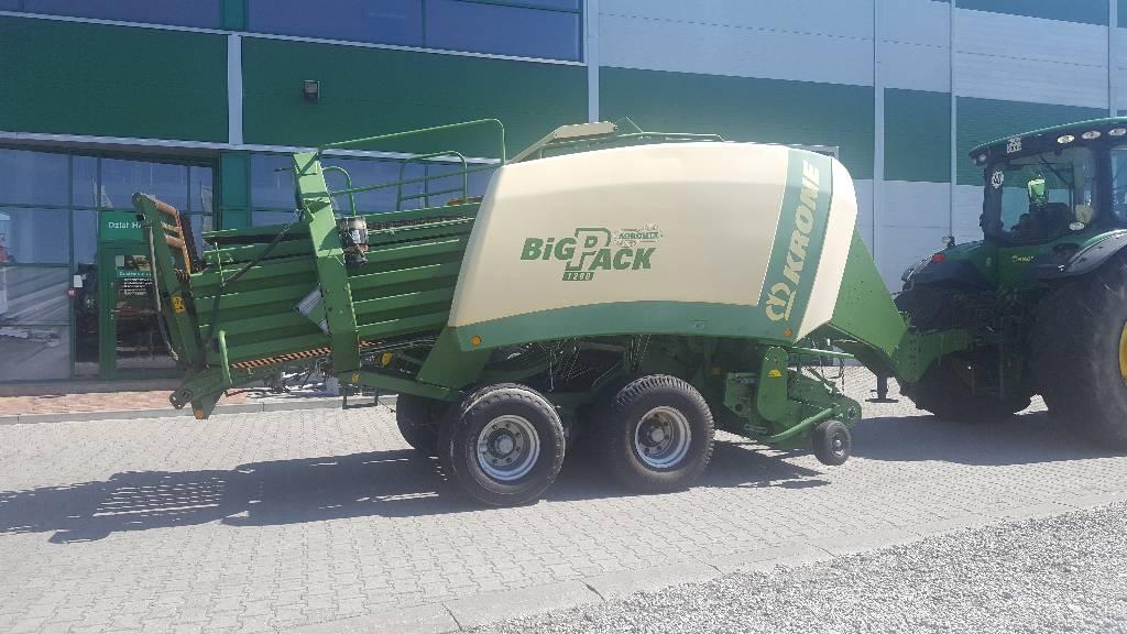Krone Big Pack 1290, Prasy kostkujące, Maszyny rolnicze