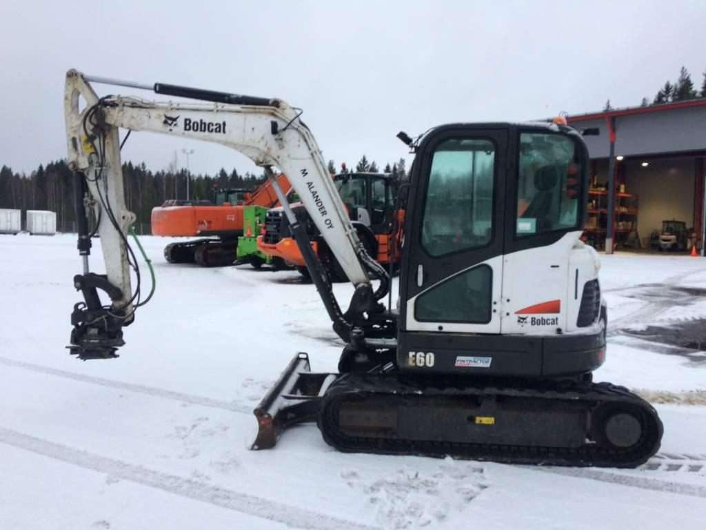 Bobcat E 60, Mini excavators < 7t (Mini diggers), Construction