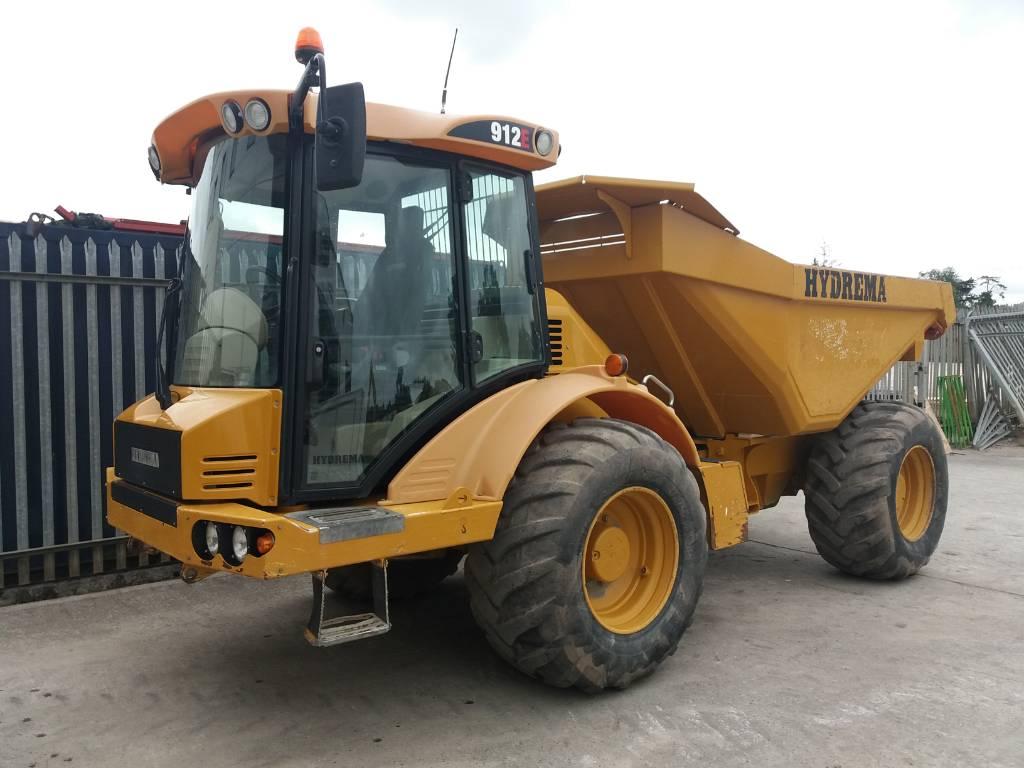 Hydrema 912 E, Articulated dump trucks, Construction Equipment