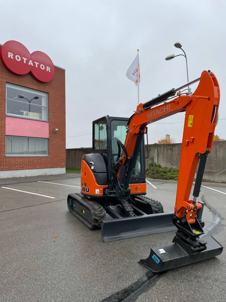 Hitachi ZX 38 U-5 A, Mini excavators < 7t (Mini diggers), Construction