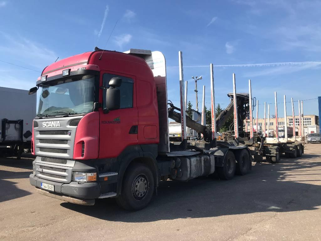 Scania LB6X4HHA, Metsaveokid, Transport