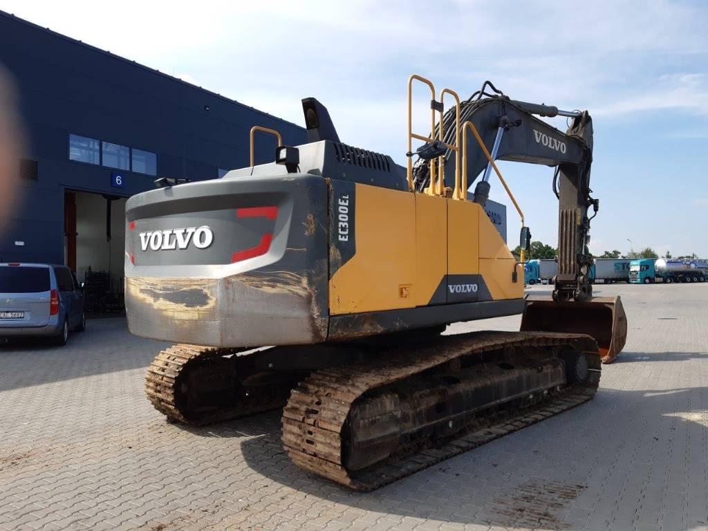 Volvo EC300EL, Crawler Excavators, Construction Equipment