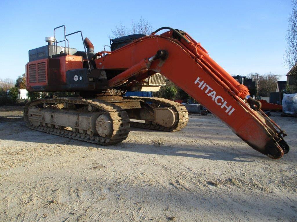 Hitachi ZX 520 LC H-5 B, Crawler Excavators, Construction Equipment