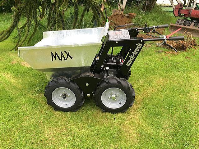 muck truck max ii mit 550kg zuladung und honda mot minidumper gebraucht kaufen und verkaufen bei. Black Bedroom Furniture Sets. Home Design Ideas