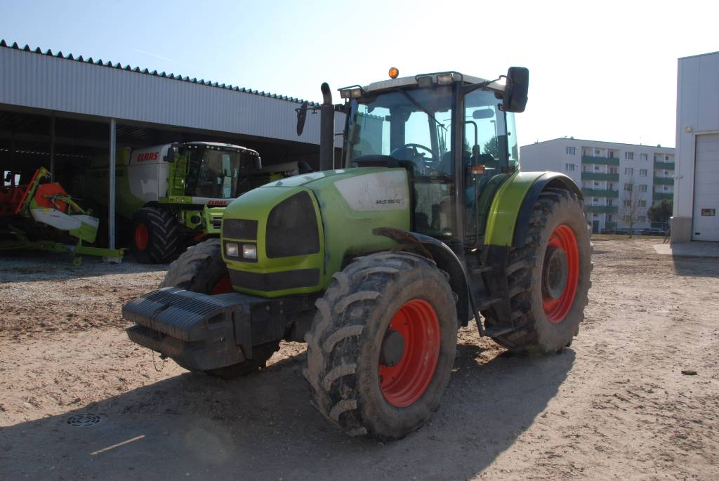 CLAAS Ares 836 RZ, Tractors, Agriculture