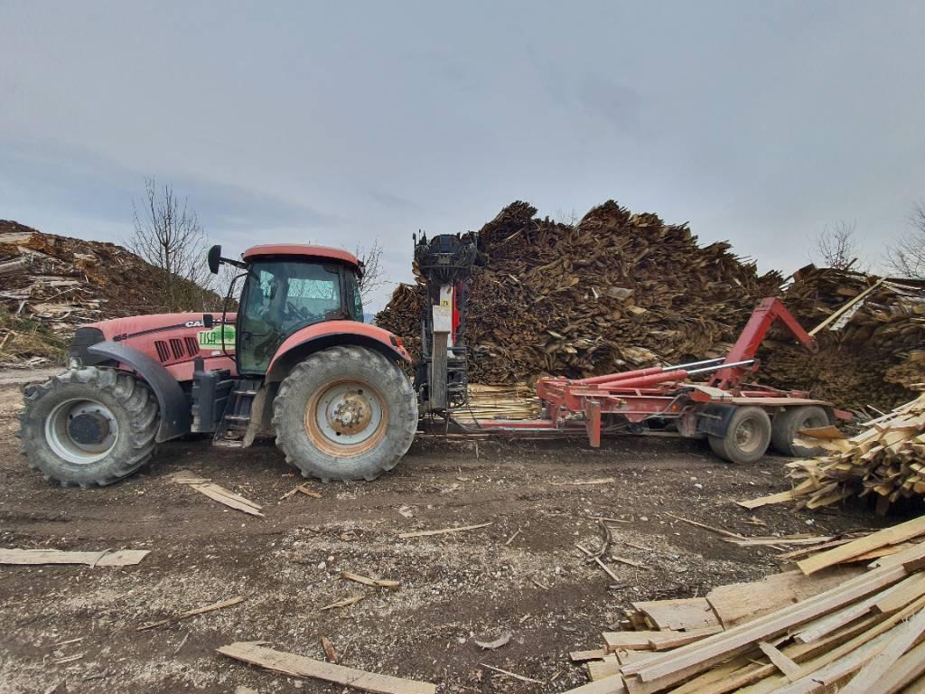 CASE Puma 165 + Crane + Trailer, Tractors, Agriculture