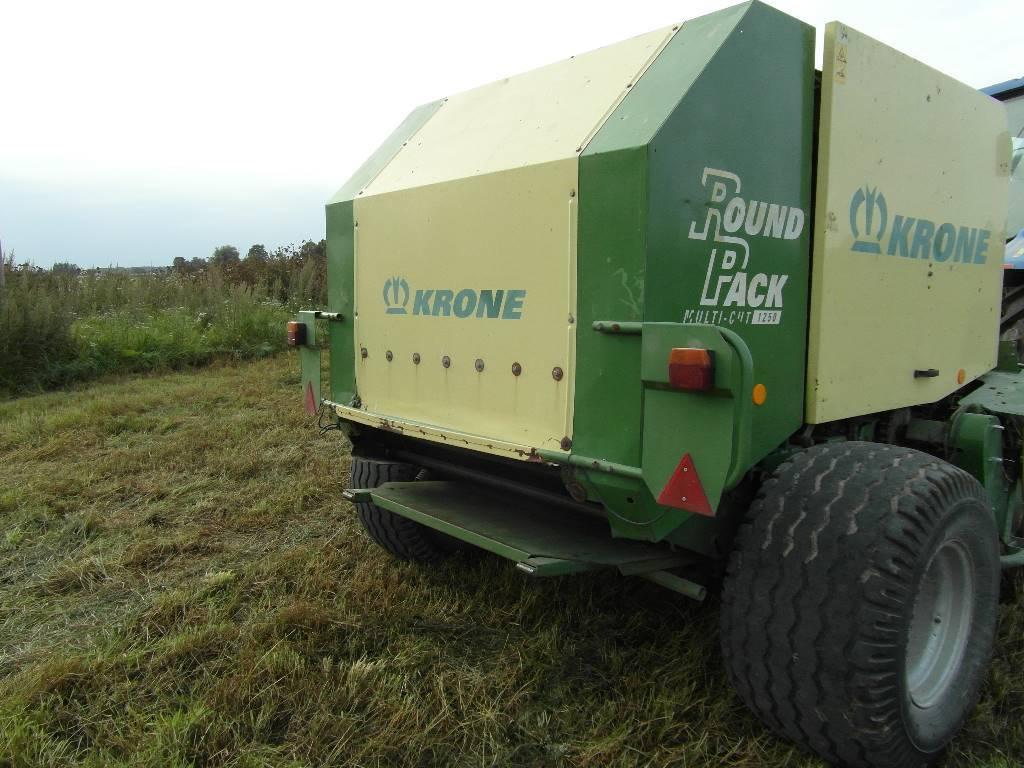 Krone Round Pack 1250 MC, Ruloonpressid, Põllumajandus