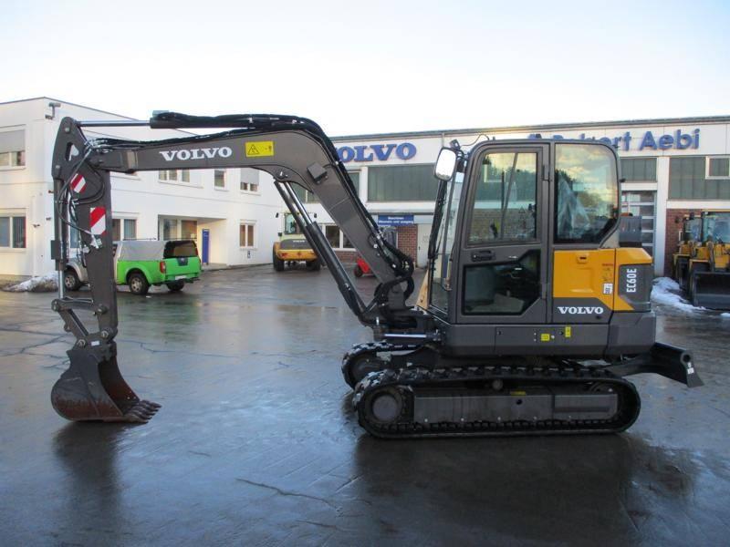 Volvo EC 60 E, Mini Excavators <7t (Mini Diggers), Construction Equipment