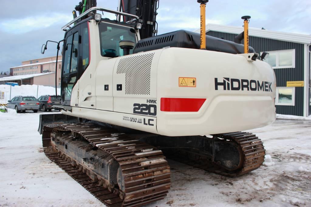 Hidromek HMK 200 LC, Bandgrävare, Entreprenad