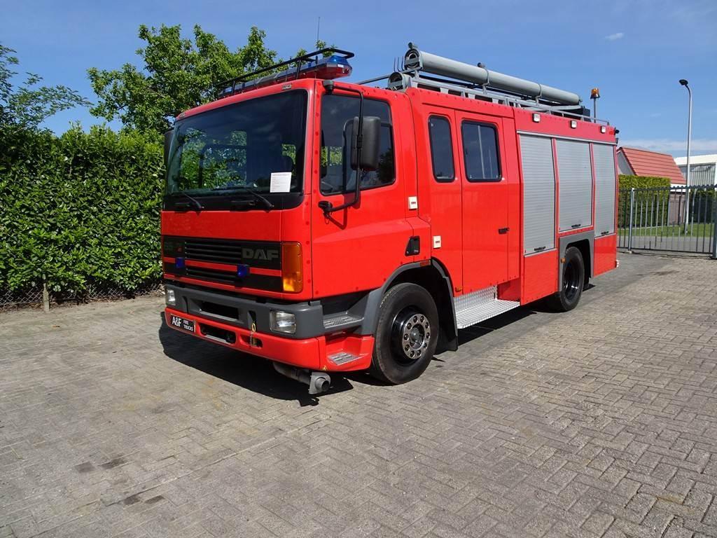 DAF 65-210 Daan Touw - Godiva, Fire trucks, Transportation