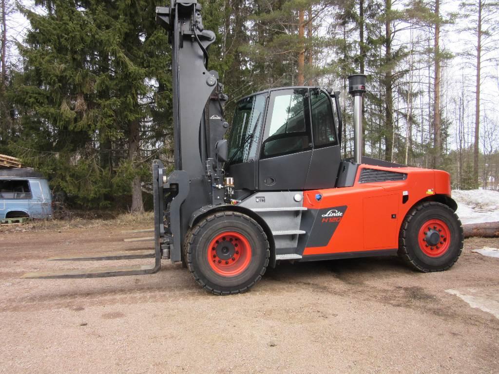 Linde H120D, Dieseltrukit, Materiaalinkäsittely