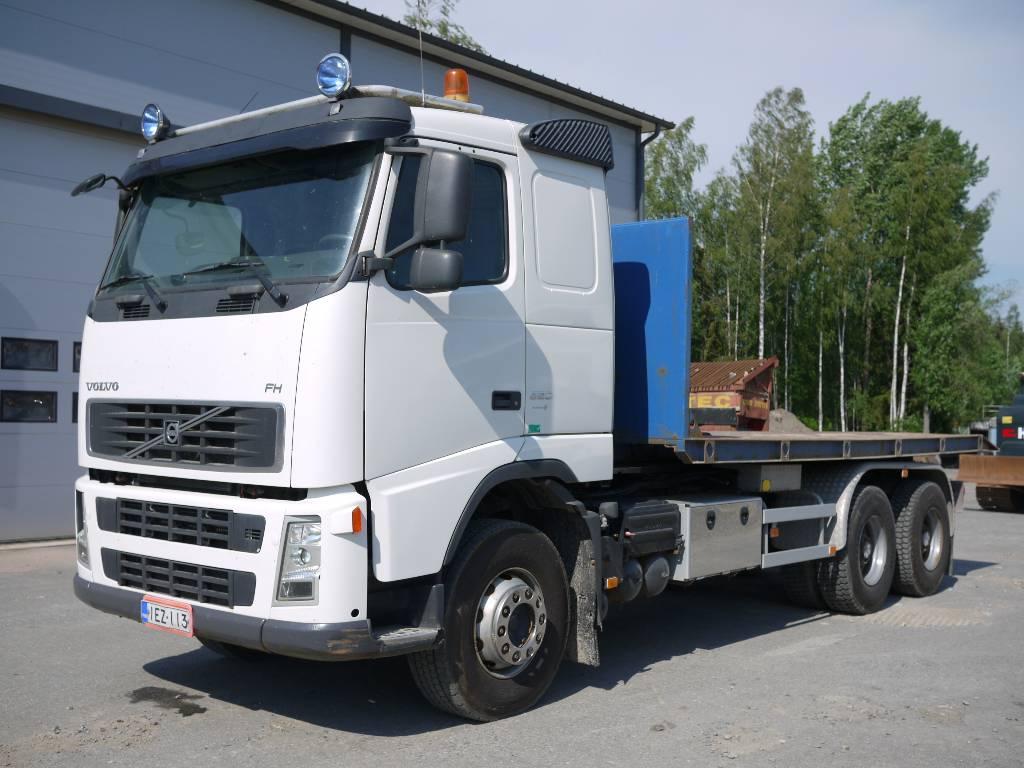 Volvo FH 12 540 6x4, Koukkulava kuorma-autot, Kuljetuskalusto