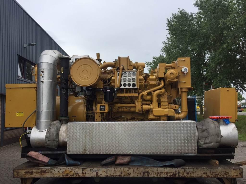 Caterpillar G 3508 - Gas Generator Set - 625 kVa - DPH 105638, Electric Power Generator, Construction