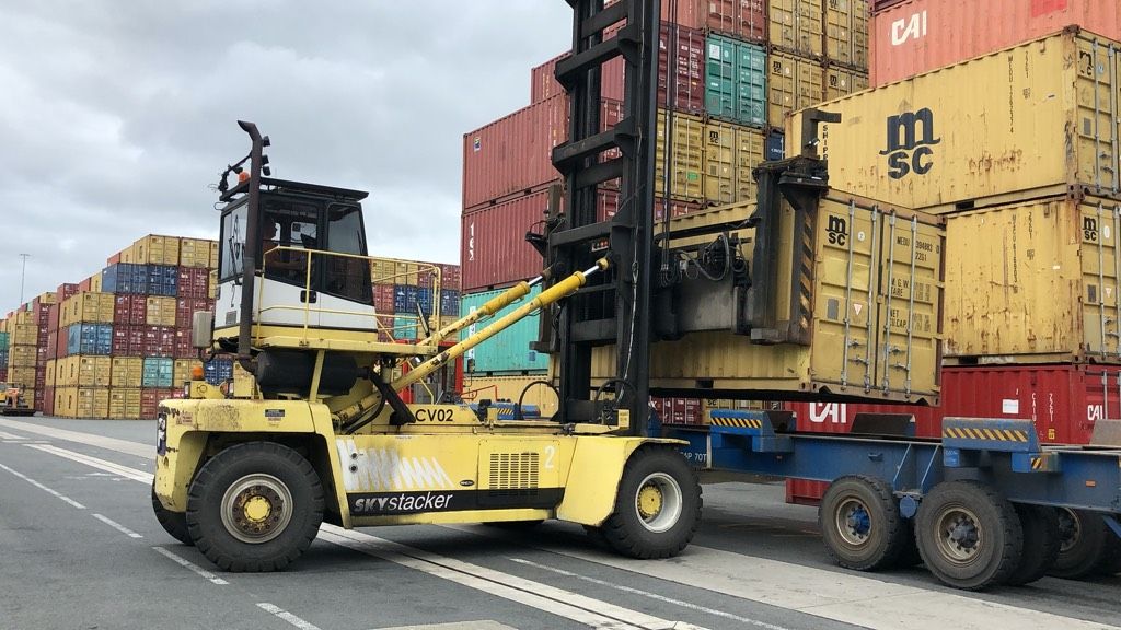 Fantuzzi FDC 25 K7 DB, Konecranes container forklifts, Material Handling