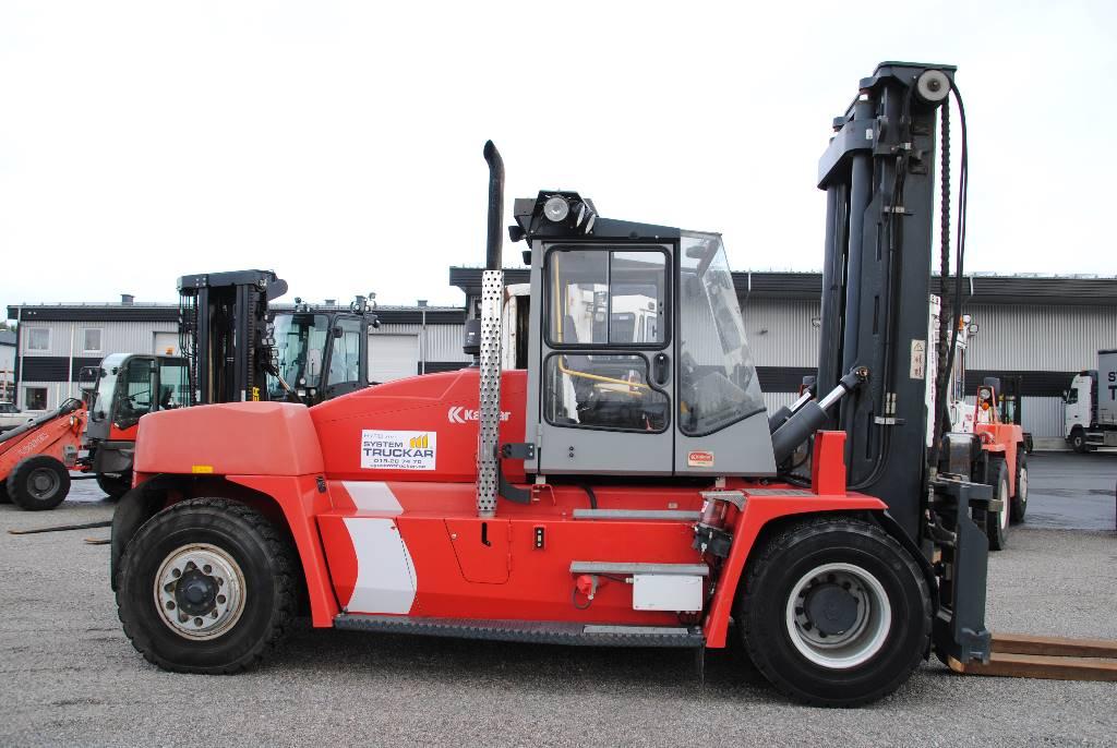 Kalmar DCE 160-12, Dieselmotviktstruckar, Materialhantering