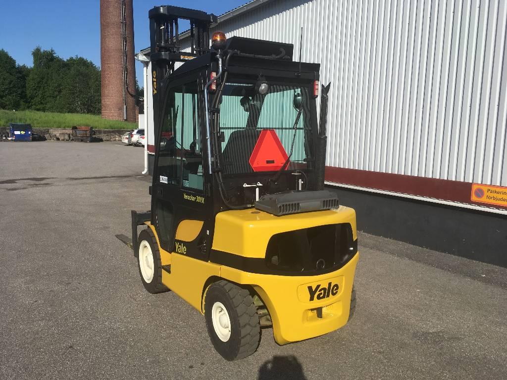 Yale GDP30VX, Diesel trucks, Material Handling