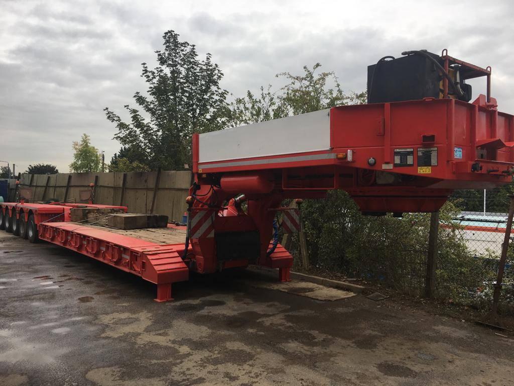 Faymonville Megamax-Z-5H-V-AT-A, Low loaders, Transportation
