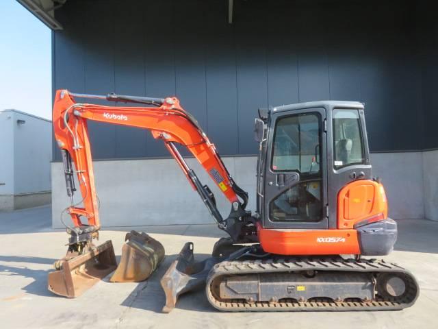 Kubota KX 057-4, Mini excavators < 7t (Mini diggers), Construction