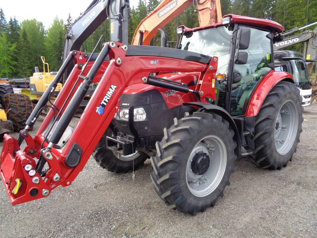 Case IH 105A, Traktorit, Maatalous