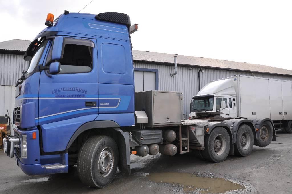 Volvo FH520 8X4, Dragbilar, Transportfordon