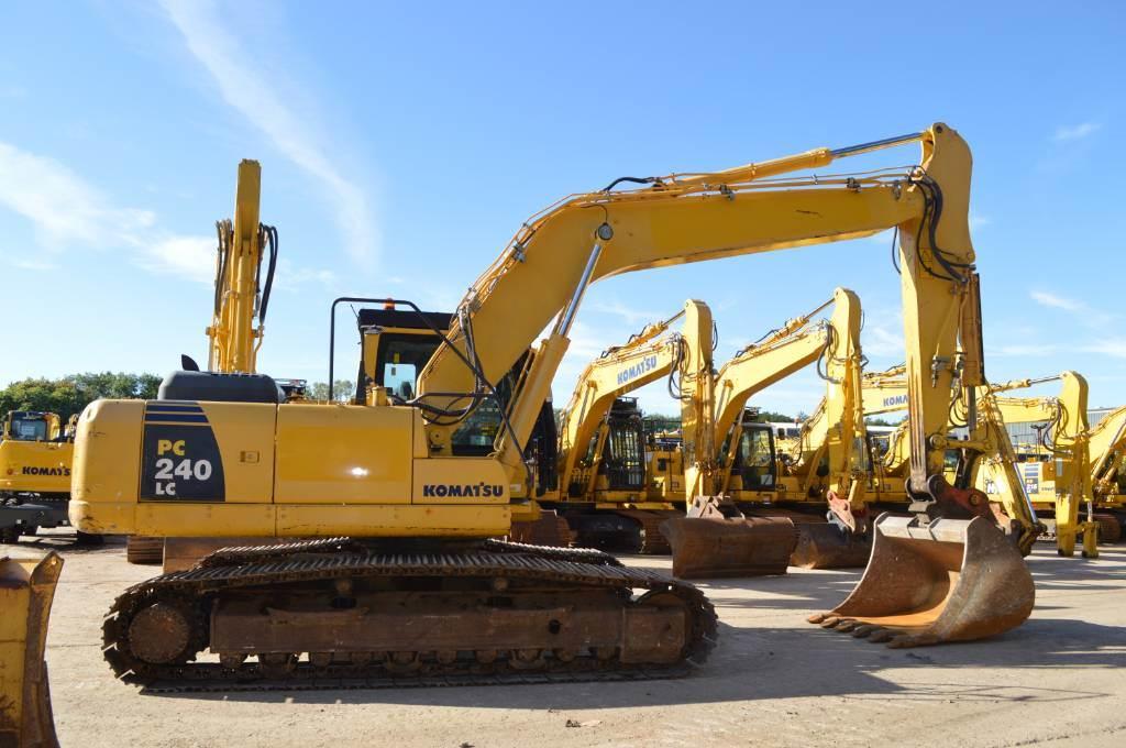 Komatsu PC240LCD-8, Crawler excavators, Construction