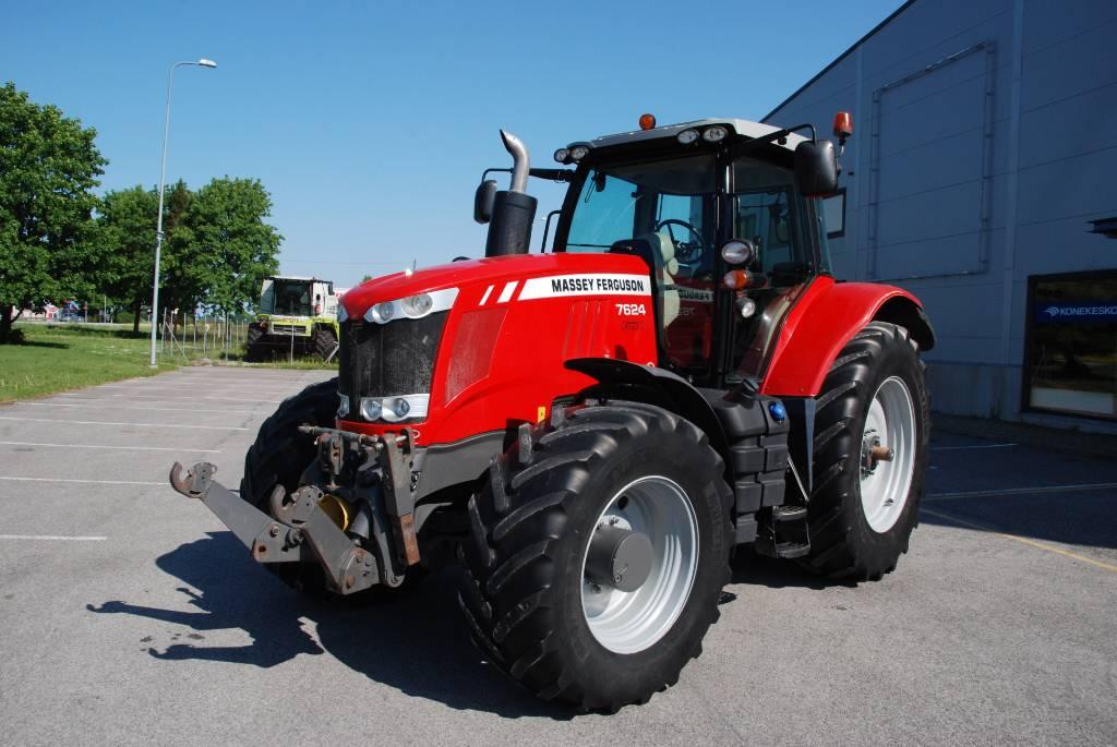 Massey Ferguson 7624 Dyna-VT, Traktorid, Põllumajandus