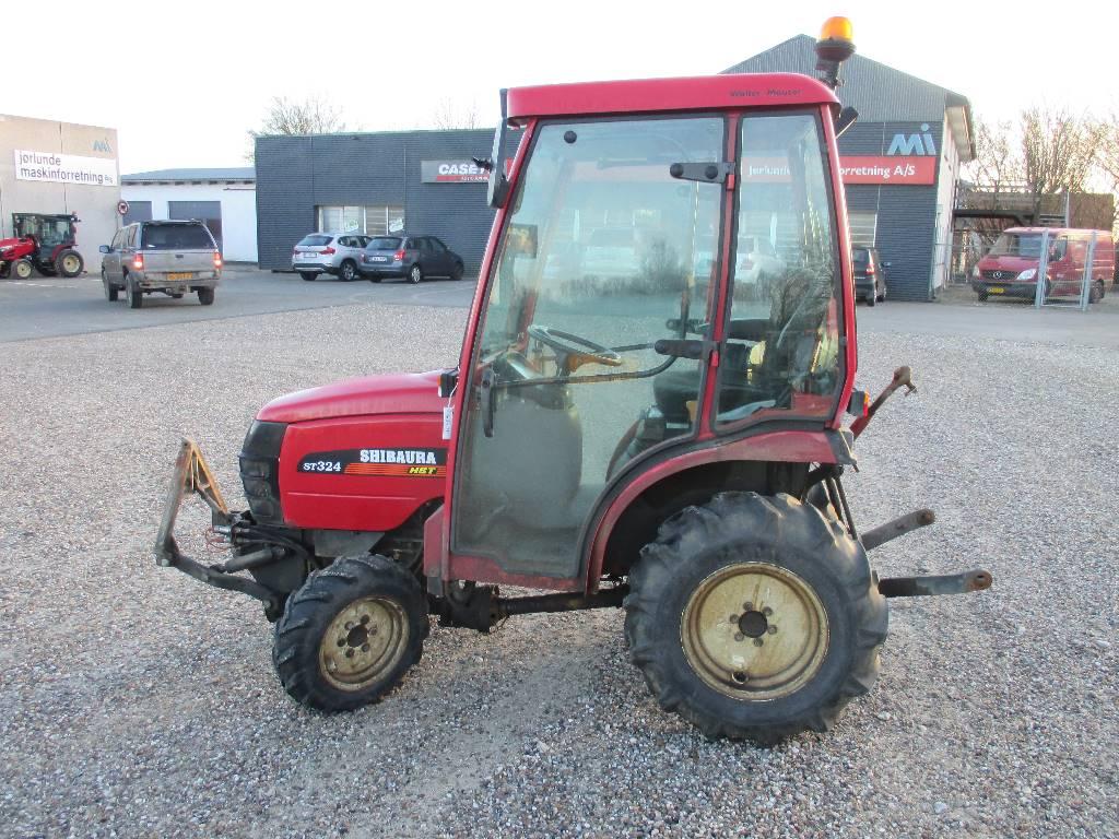 Shibaura ST 324, Kompakte traktorer, Have & Park