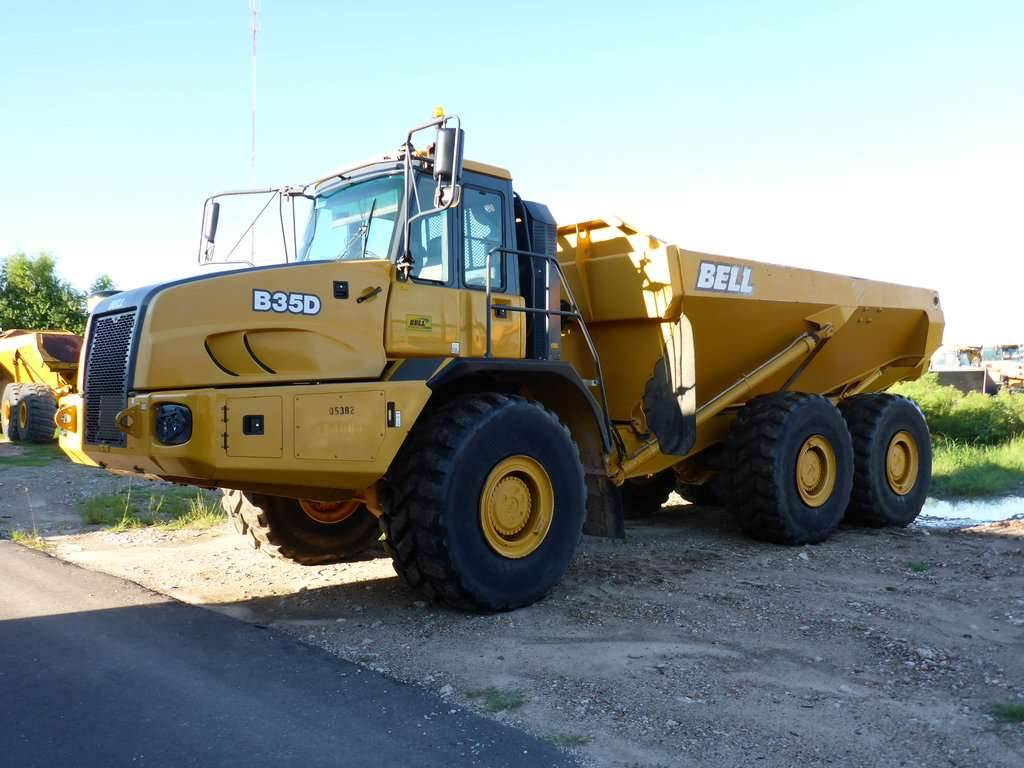 Bell B35D - Articulated Dump Trucks (ADTs) - Construction