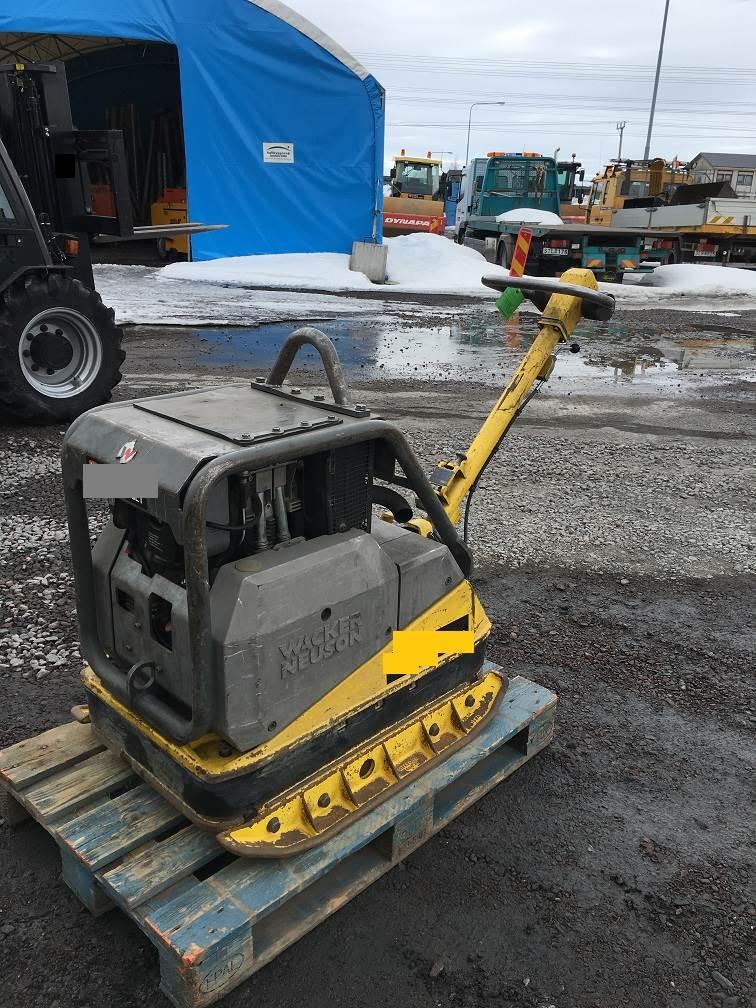Wacker Neuson DPU 6055, Jordkompaktorer, Entreprenad