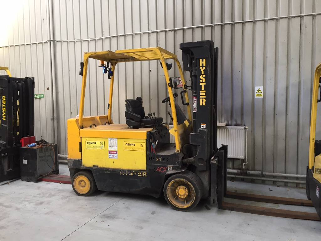 Hyster E 5.50, Electric counterbalance Forklifts, Material Handling