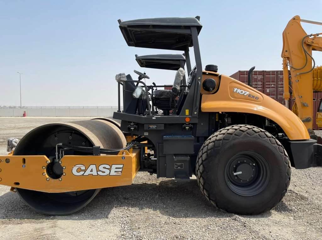 CASE 1107-EX D, Single drum rollers, Construction