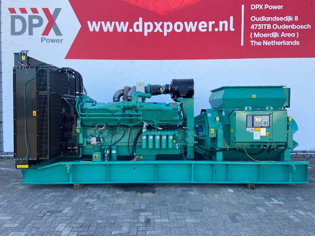Cummins C1250D6 - 1.588 kVA - 13,8 kV Genset - DPX-25058, Diesel generatoren, Bouw
