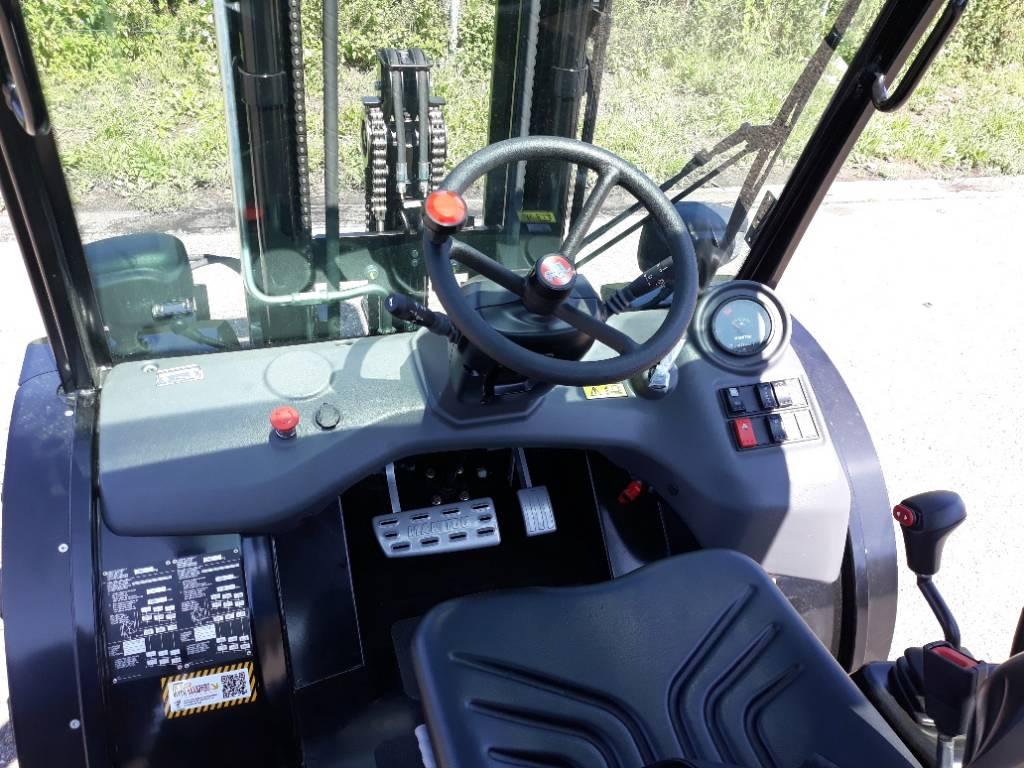 Manitou MC25-4, Diesel heftrucks, Material Handling