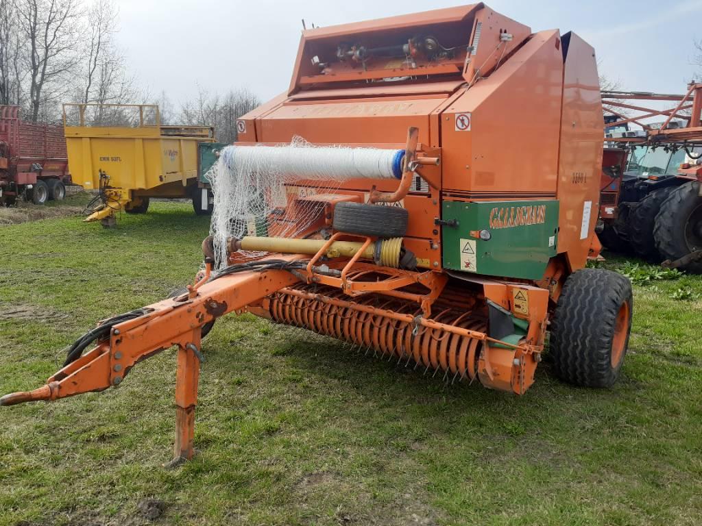 Gallignani 3500L, Prasy zwijające, Maszyny rolnicze