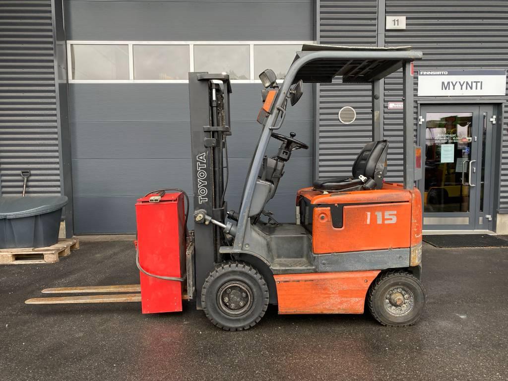 Toyota 6FB15, Elektritõstukid, Materjalikäsitlus