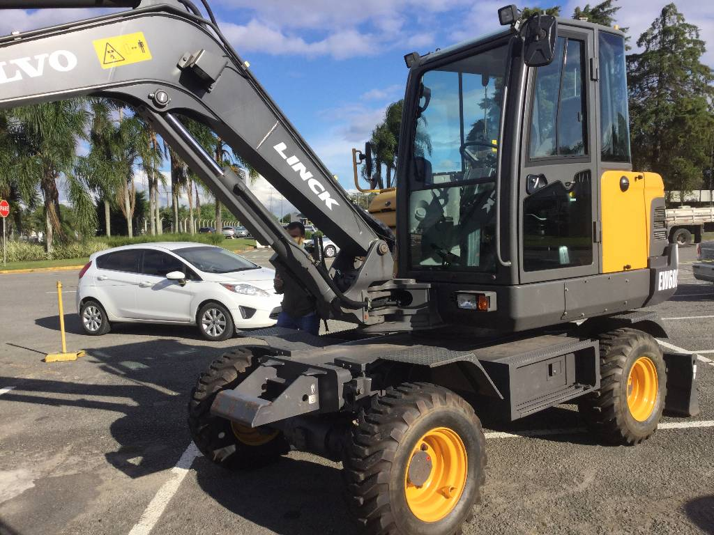 volvo ew60c wheeled excavators construction equipment. Black Bedroom Furniture Sets. Home Design Ideas