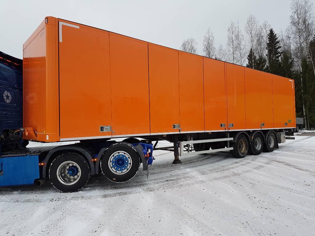 Ekeri KappaletavaraPPV/DTW838/Euroopa mittoilla, Umpikori puoliperävaunut, Kuljetuskalusto