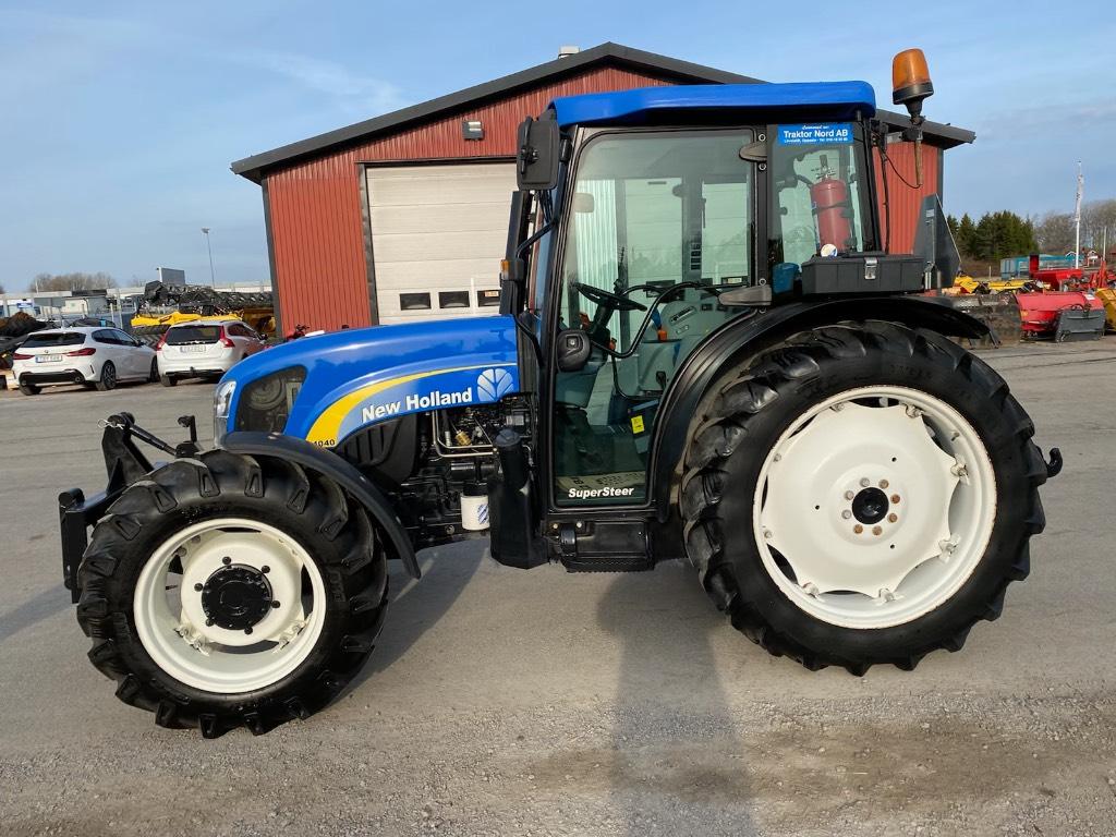 New Holland T4040 SS, FLP 2.795tim, Traktorer, Lantbruk