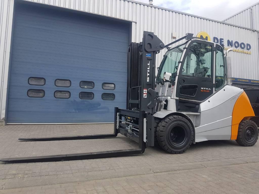 Still R70-80, Diesel heftrucks, Laden en lossen