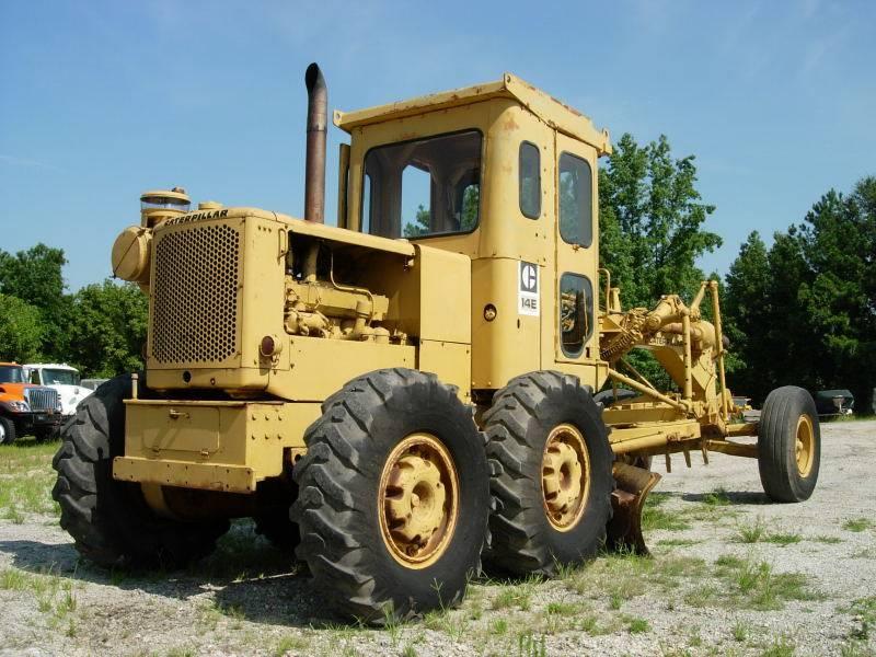 Caterpillar 14 E, Motor Graders, Construction Equipment