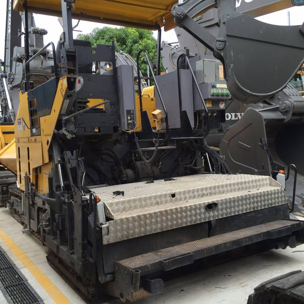 Volvo ABG7820, Asphalt pavers, Construction