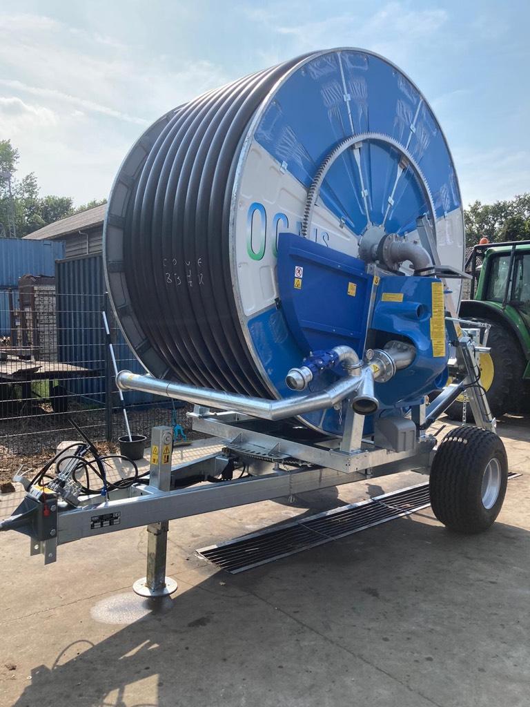 Ocmis 110 R4 beregening haspel, Irrigation systems, Agriculture