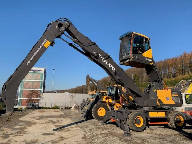 Volvo EW 240 E MH, Waste / Industry Handlers, Construction Equipment