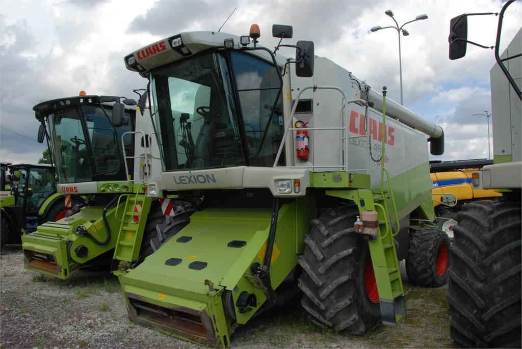 CLAAS Lexion 460, Kasutatud, Põllumajandus