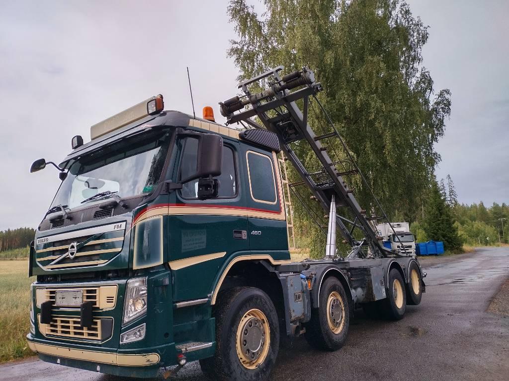 Volvo FM13 8x2 vaijerilaite, napaperä, Vaihtolava-autot, Kuljetuskalusto