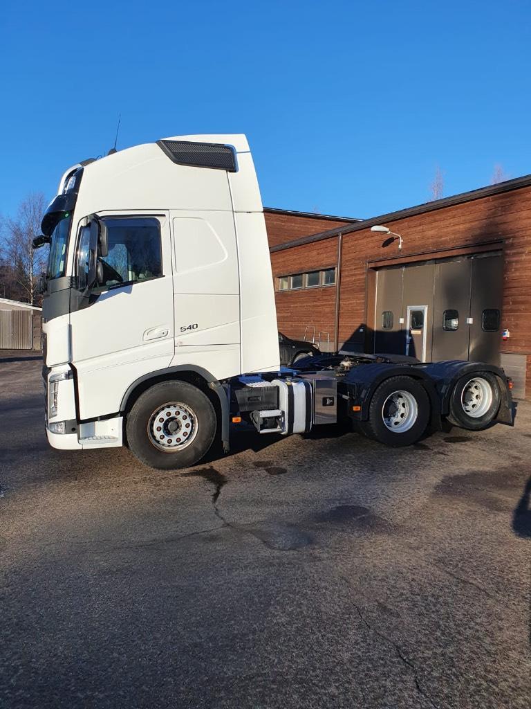 Volvo FH540XL 6x2 ajettu 293tkm, Vetopöytäautot, Kuljetuskalusto